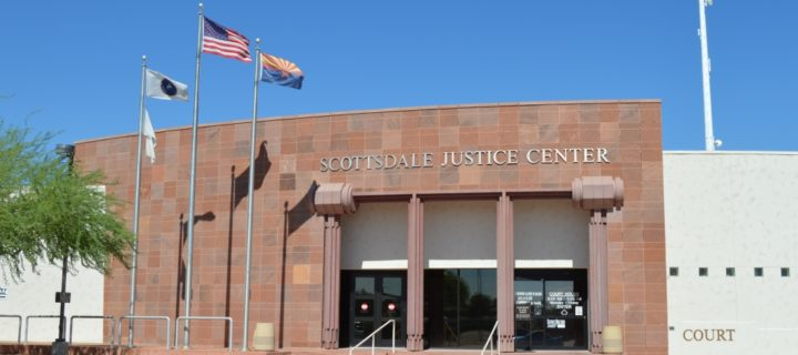 Where is Scottsdale city court at?