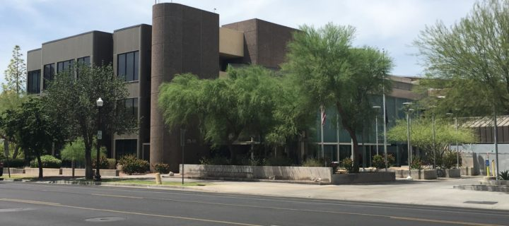 Where is Tempe city court at? Arizona